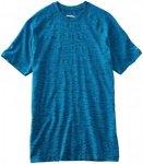 Saucony Dash Seamless Short Sleeve - Laufshirts für Herren - Blau, Gr. M