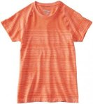 Saucony Dash Seamless Short Sleeve Laufshirts - Orange, Gr. S