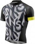 Skins Cycle Classic Short Sleeve Jersey FZ - Radtrikots für Herren - Schwarz, G