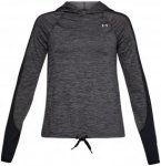 Under Armour Novelty Pullover - Fitnessshirts für Damen - Grau, Gr. XS
