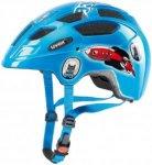 Uvex Finale Junior Led - Helme für Kinder Unisex - Blau, Gr. 48-52 cm