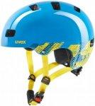 Uvex Kid 3 - Helme für Jungs - Blau, Gr. 55-58 cm