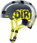 Uvex Kid 3 - Helme für Jungs - Grau, Gr. 51-55 cm