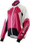 X-Bionic Biking Spherewind Jacket - Radjacken für Damen - Rot, Gr. XS