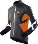 X-Bionic Biking Winter Spherewind Light Jacket - Radjacken für Herren - Schwarz