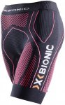X-Bionic Running The Trick Ow Pants Short - Laufhosen für Damen - Schwarz, Gr.