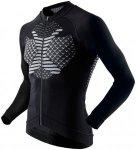 X-Bionic Twyce Biking Shirt Long Sleeve - Triathlon für Herren - Schwarz, Gr. S