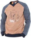 abk Herren Kunlun Shan Pullover (Größe L, Braun) | Pullover > Herren