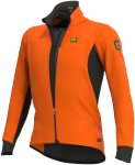 Alé Herren Course Combi DWR Jacke (Größe S, Orange)   Fahrradjacken > Herren