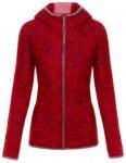 Almgwand Ginselhöhe Jacke (Größe XL, rot) | Fleecejacken > Damen