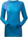Bergans Damen Fjellrapp Longsleeve (Größe XS, Blau) | Langarm Unterhemden > Da