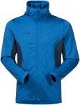 Bergans Herren Lom Fleece Hooded Jacke(Größe L, Blau)