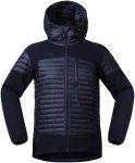 Bergans Herren Osen Down/Wool Jacke Blau M