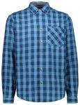 CMP Brushed Flannel Hemd (Größe L, blau) | Hemden > Herren