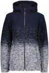 CMP Damen Wooltech Fix Jacke (Größe M, Blau) | Fleecejacken > Damen