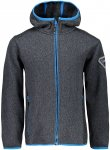 CMP Kinder Boys Fix Knit Tech Jacke (Größe 116, Grau) | Fleecejacken > Kinder