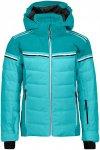 CMP Kinder Girls Hoodie Flat Jacke (Größe 128, Blau) | Skijacken > Kinder