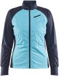Craft Damen Storm Balance Jacke (Größe S, Blau) | Langlaufjacken > Damen