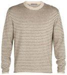 Icebreaker Flaxen Crewe Pullover (Größe XL, weiss) | Pullover > Herren