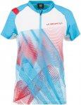 La Sportiva Damen Veloce T-Shirt (Größe M, Blau) | T-Shirts Funktion > Damen