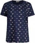 Maloja Damen SatwegiaM. Bluse (Größe L, Blau) | Blusen > Damen