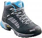 Meindl Damen SX 1.1 GTX Mid Schuhe (Größe 39, Schwarz) | Wanderschuhe & Trekki