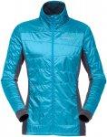 Norrona Damen Falketind Alpha60 Jacke (Größe XS, Blau)   Kunstfaserjacken > Da