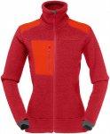 Norrona Damen Trollveggen Thermal Pro Jacke (Größe XS, Rot) | Fleecejacken > D