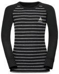 Odlo Warm Longsleeve (Größe 116, schwarz) | Kurzarm Unterhemden > Kinder