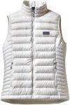 Patagonia Damen Down Sweater Weste(Größe L, Weiß)
