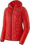 Patagonia Damen Micro Puff Hooded Jacke (Größe XL, Rot) | Kunstfaserjacken > D