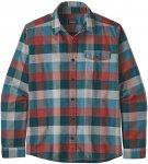 Patagonia Herren Fjord Flannel LW Shirt (Größe XL, Grün) | Hemden > Herren