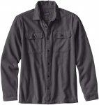 Patagonia Herren Fjord Flannel Shirt (Größe XXL, Grau) | Hemden > Herren