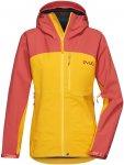 Pyua Damen Gorge Jacke (Größe L, Gelb)   Skijacken > Damen