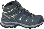 Salomon Damen X Ultra 3 Mid GTX Schuhe (Größe 37, 36.5, Blau) | Wanderschuhe &