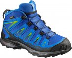 Salomon Kinder X-Ultra Mid GTX Schuhe Blau 34