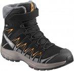 Salomon Kinder XA PRO 3D Winter TS CSWP Schuhe (Größe 33, Schwarz) | Wintersch