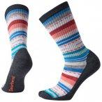 Smartwool Hike Light Margarita Crew Socken (Größe 42 | 43 | 44 | 45, schwarz)