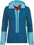 Vaude Damen Kofel LW II Jacke (Größe XS, Blau) | Hardshelljacken & Regenjacken