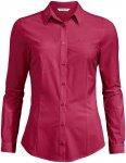 Vaude Damen Skomer Bluse (Größe XS, Rot) | Blusen > Damen