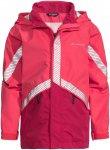 Vaude Kinder Luminum II Jacke (Größe 104, Rot) | Hardshelljacken & Regenjacken
