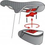Vaude Twist Attachment For Saddle Bag (Schwarz)   Fahrradtaschen > Herren, Damen