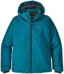 Patagonia Boys Snowshot Jacket Balkan Blue with Fo