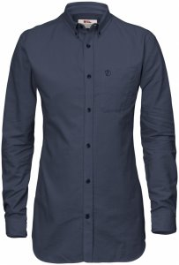 Fjäll Räven High Coast Flannel Shirt LS W-Night Sky-XXS - night sky - Gr. XXS