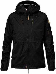 Fjäll Räven Keb Eco-Shell Jacket W-Black-L - black - Gr. L