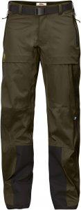 Fjällräven Keb Eco-Shell Trousers W-Dark Olive-XL - dark olive - Gr. XL