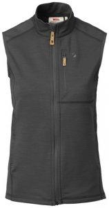 Fjällräven Keb Fleece Vest W-Dark Grey-Black-XS - Gr. XS