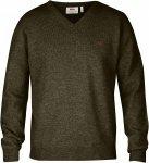 Fjällräven Shepparton Sweater M - Dark Olive - L - dark olive
