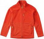 Fjällräven Kids Abisko Trail Fleece - Flame Orange - 158 - flame orange
