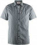 Fjällräven Svante Seersucker Shirt SS M-Dusk-XL - dusk - Gr. XL